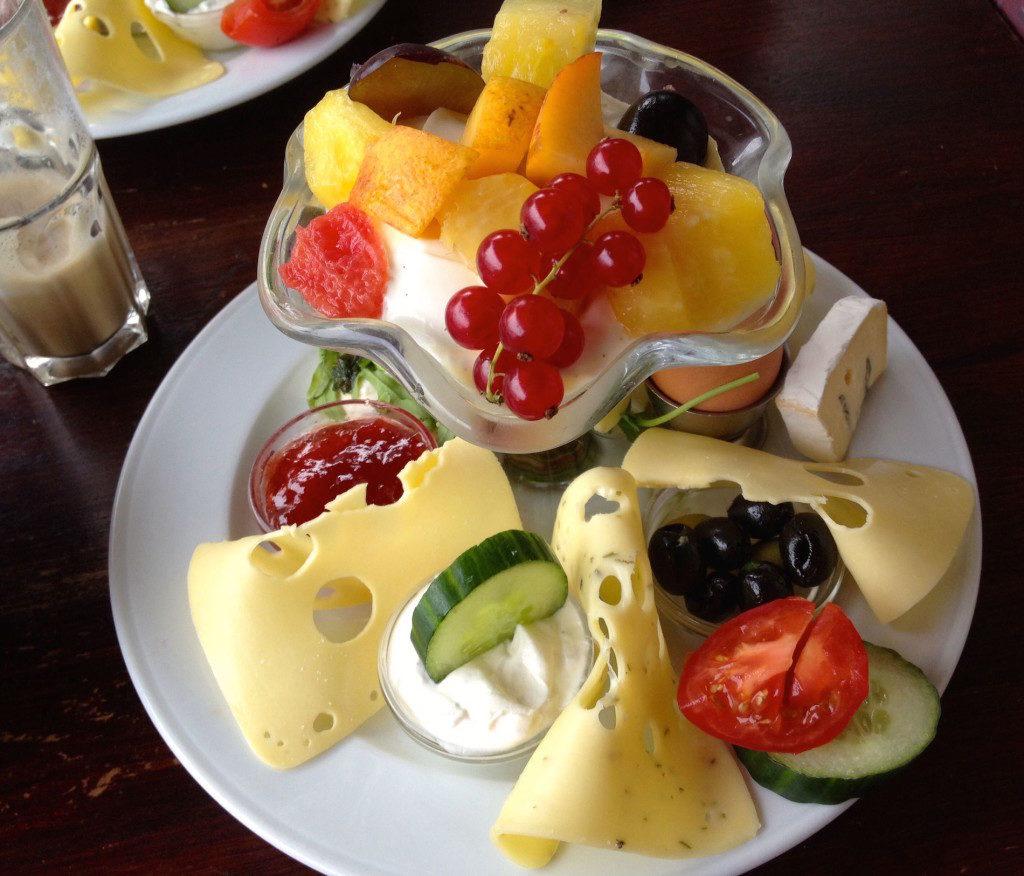 Petit déjeuner à Berlin