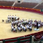 Concert dans les arènes de Valencia