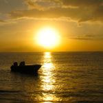 Guadeloupe couché de Soleil