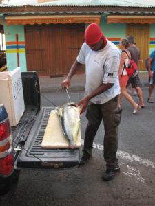 Vendeur de poisson